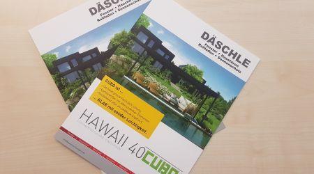 Werbebroschüre Däschle GmbH
