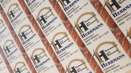 Equipmentaufkleber Herrmann
